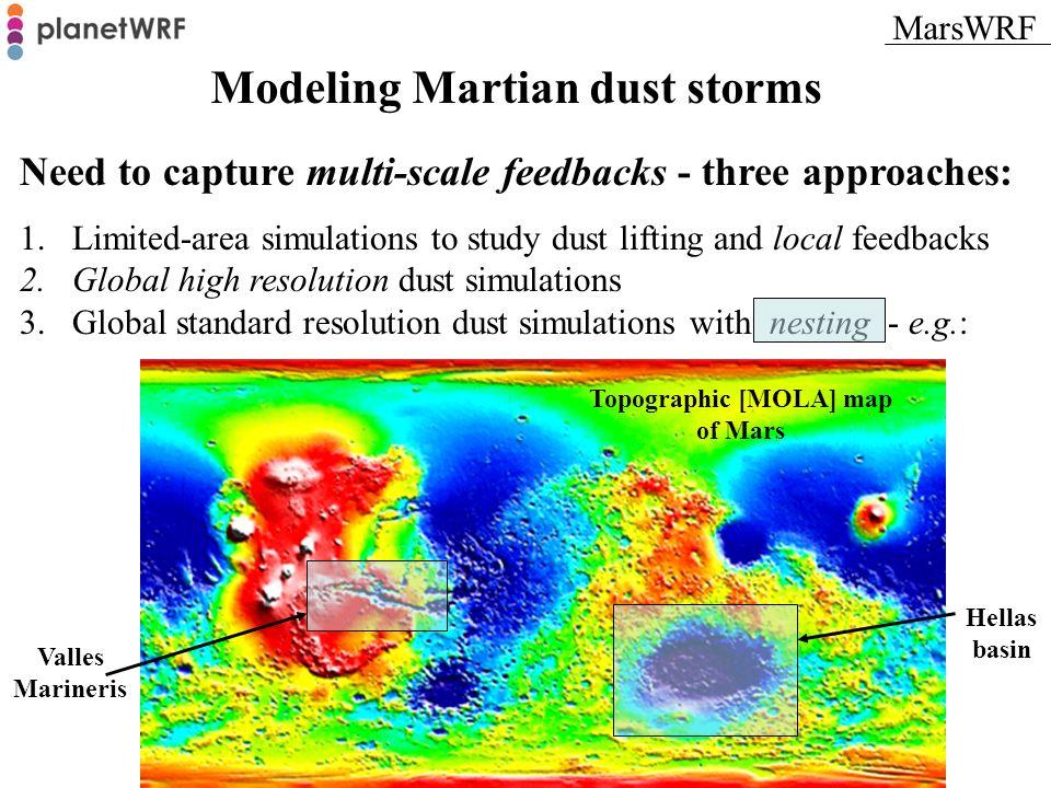 Topographic [MOLA] map of Mars